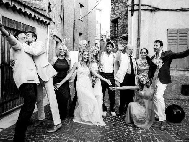 Le mariage de Jean Michel et Sarah à Montauroux, Var 59