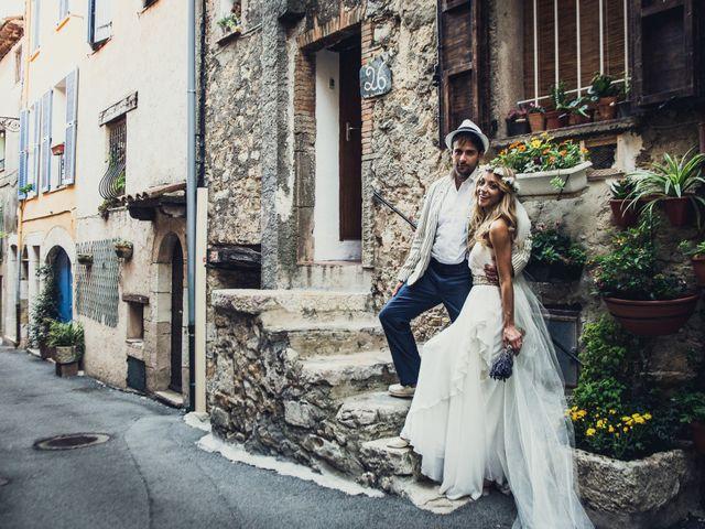 Le mariage de Jean Michel et Sarah à Montauroux, Var 60