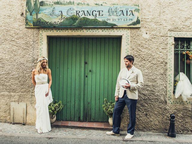 Le mariage de Jean Michel et Sarah à Montauroux, Var 65