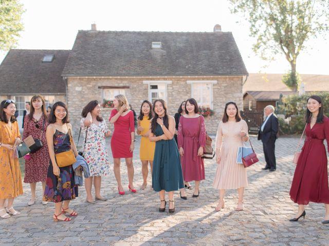 Le mariage de Frederico et Yen-Ting à Rennemoulin, Yvelines 51