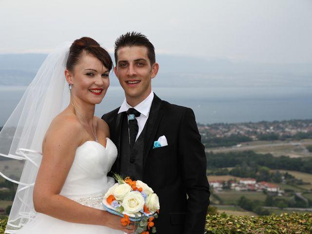 Le mariage de William et Aurore à Brenthonne, Haute-Savoie 2