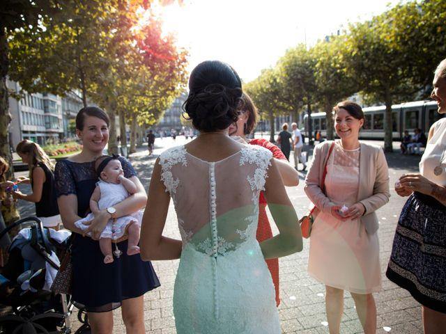 Le mariage de Benoït et Hanae à Strasbourg, Bas Rhin 2