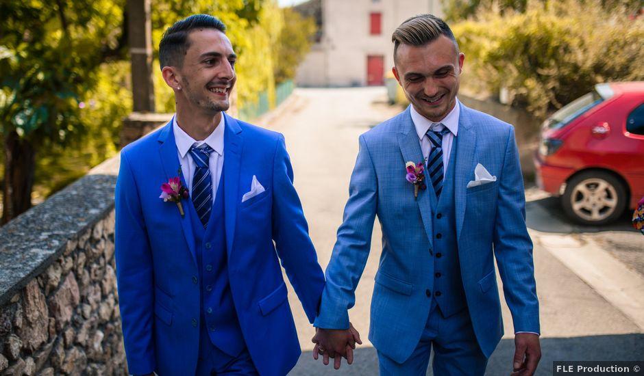 Le mariage de Romain et Paulin à Pennautier, Aude