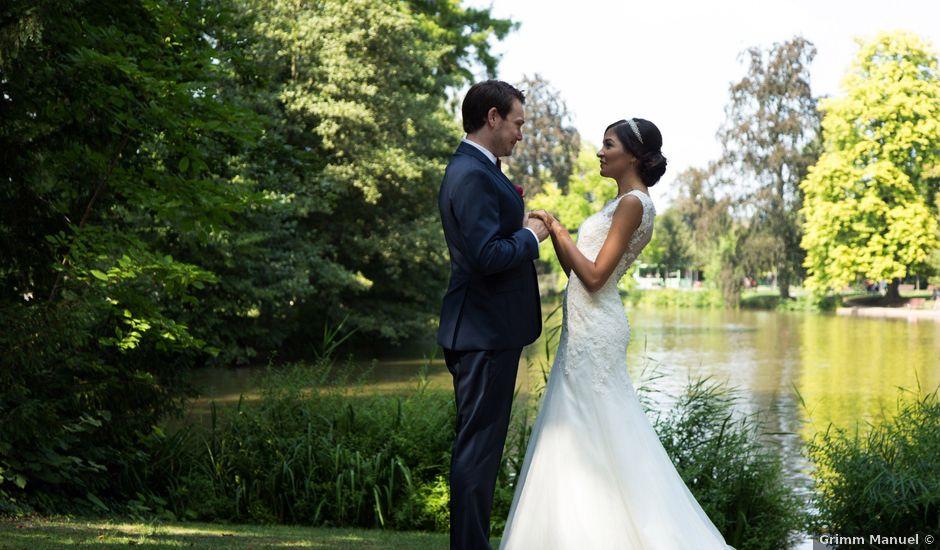Le mariage de Benoït et Hanae à Strasbourg, Bas Rhin