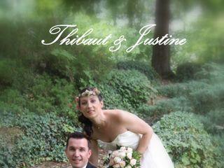 Le mariage de Justine et Thibaut 1