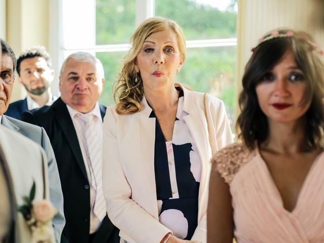 Le mariage de Éric et Livia à Saint-Germain-de-la-Grange, Yvelines 75