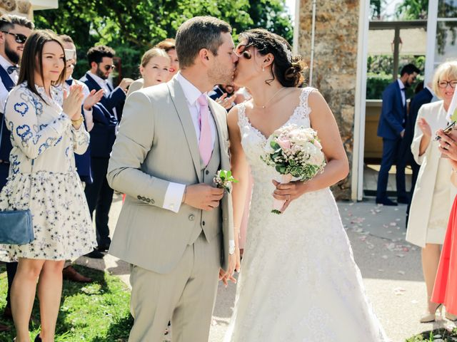 Le mariage de Éric et Livia à Saint-Germain-de-la-Grange, Yvelines 92