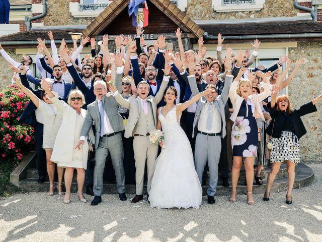 Le mariage de Éric et Livia à Saint-Germain-de-la-Grange, Yvelines 93
