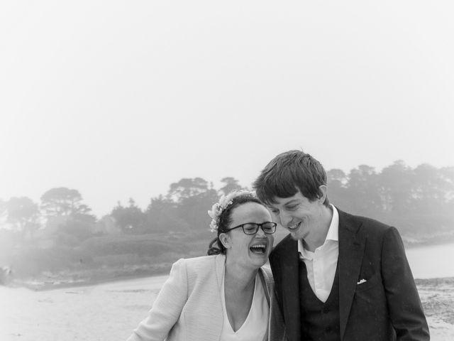 Le mariage de Guillaume et Iris à Landéda, Finistère 14