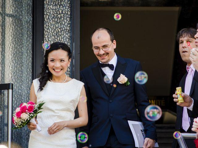 Le mariage de Romain et Tzu-Hsuan à Villeurbanne, Rhône 12
