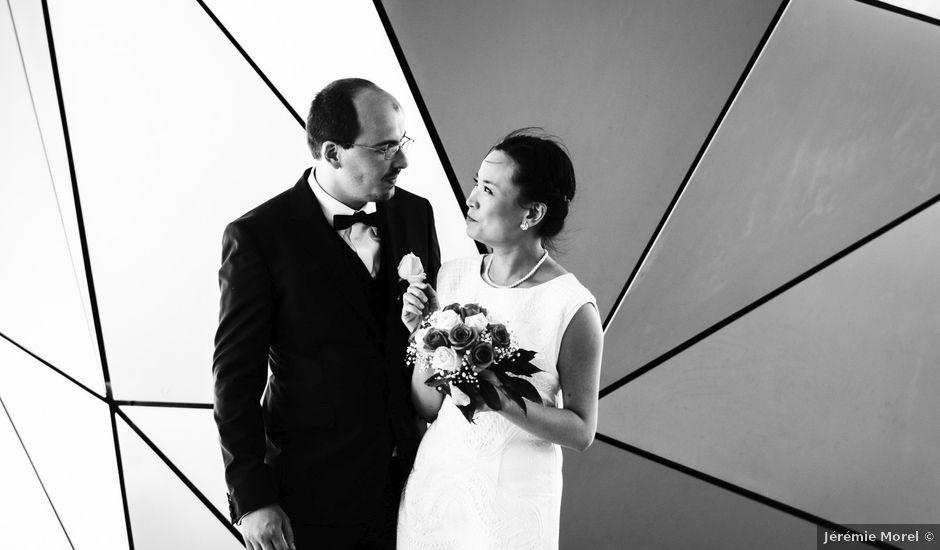 Le mariage de Romain et Tzu-Hsuan à Villeurbanne, Rhône