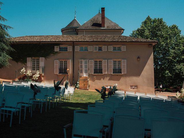 Le mariage de Mathieu et Delphine à Le Perréon, Rhône 1