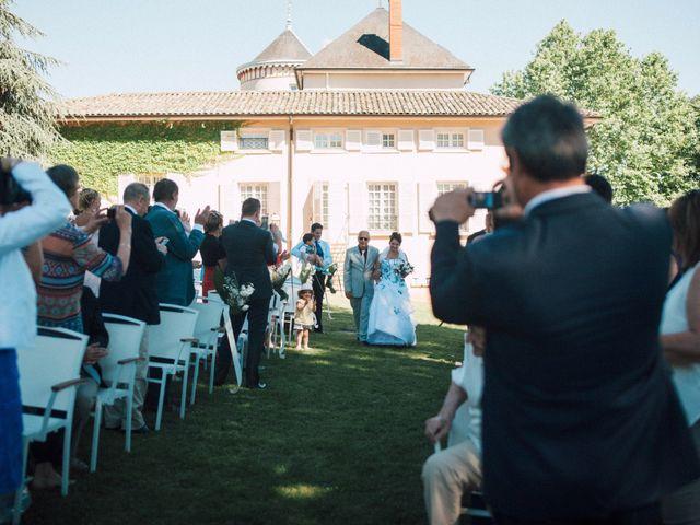 Le mariage de Mathieu et Delphine à Le Perréon, Rhône 7