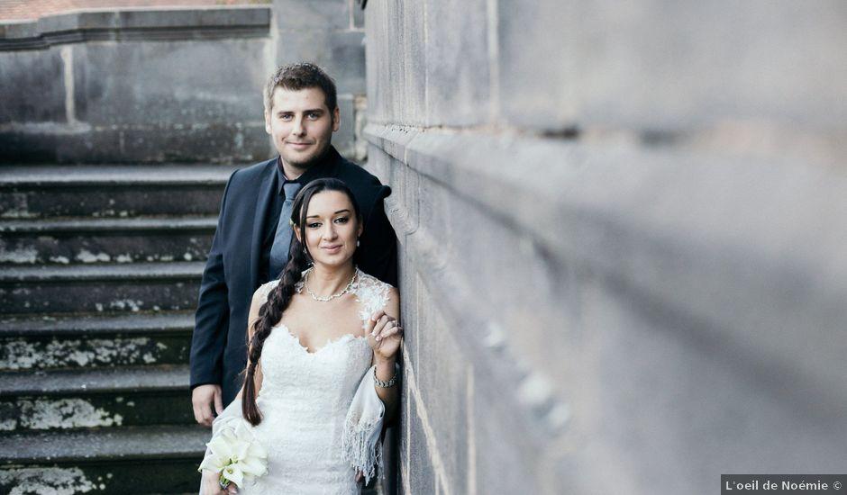 Le mariage de Tristan et Charlotte à Miremont , Puy-de-Dôme