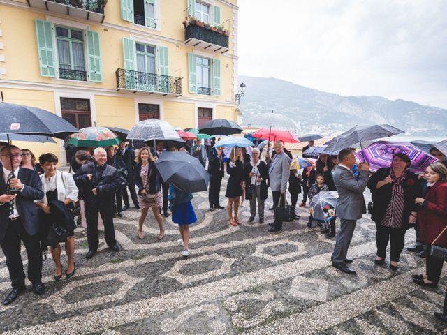 Le mariage de Yves et Hélène à Menton, Alpes-Maritimes 8