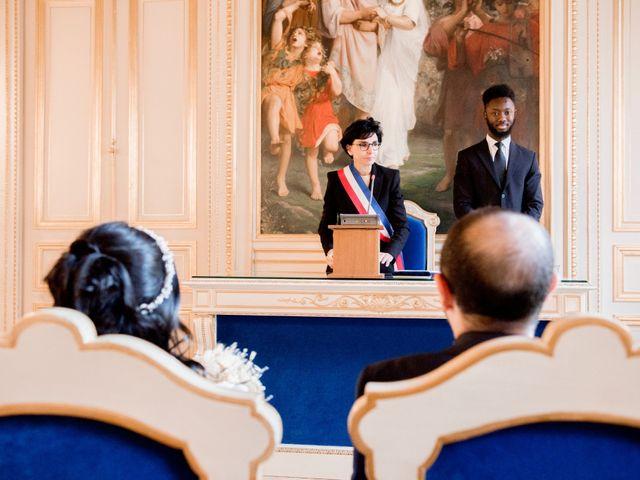 Le mariage de Yaya et Miriam à Paris, Paris 6