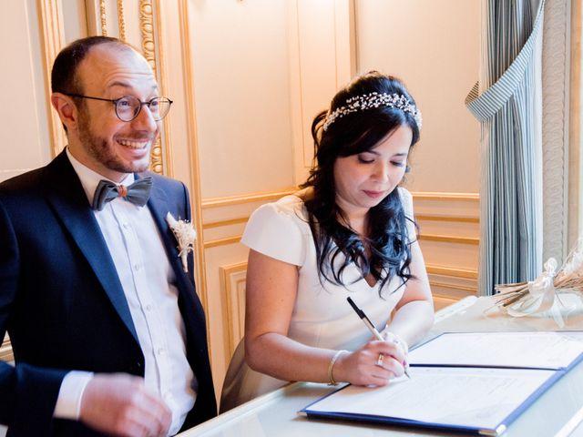 Le mariage de Yaya et Miriam à Paris, Paris 8