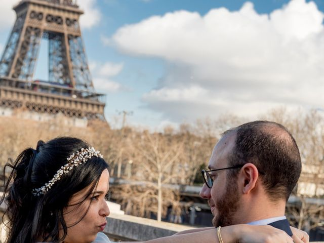 Le mariage de Yaya et Miriam à Paris, Paris 18