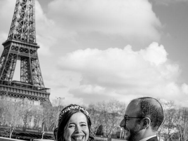 Le mariage de Yaya et Miriam à Paris, Paris 19