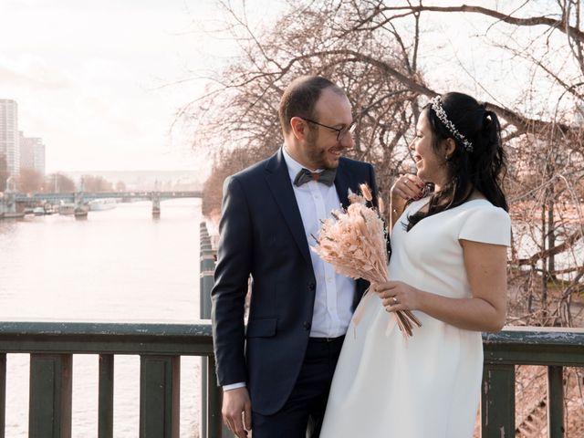 Le mariage de Yaya et Miriam à Paris, Paris 20