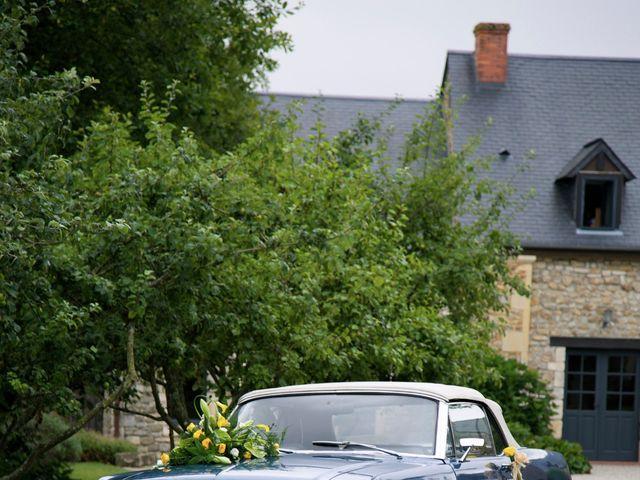 Le mariage de Corentin et Amandine à Bretteville-sur-Laize, Calvados 22