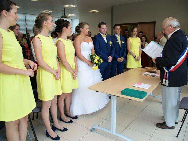 Le mariage de Corentin et Amandine à Bretteville-sur-Laize, Calvados 33