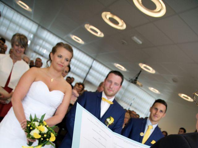 Le mariage de Corentin et Amandine à Bretteville-sur-Laize, Calvados 35
