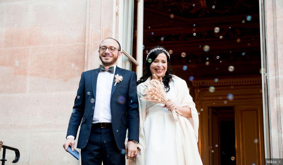 Le mariage de Yaya et Miriam à Paris, Paris