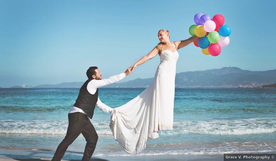 Le mariage de Jean-Noel et Letizia à Ajaccio, Corse