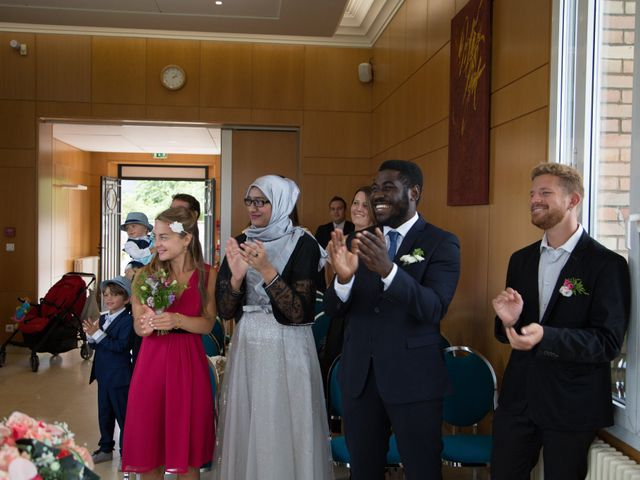 Le mariage de Zata et Zaahir à Buchelay, Yvelines 2