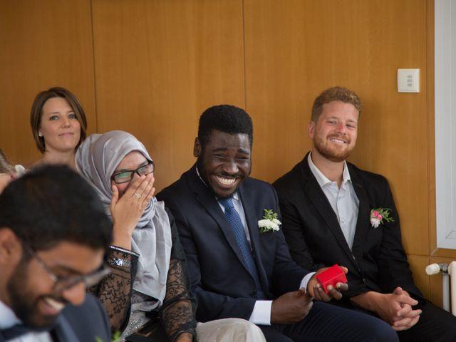 Le mariage de Zata et Zaahir à Buchelay, Yvelines 12