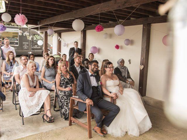 Le mariage de Zata et Zaahir à Buchelay, Yvelines 34