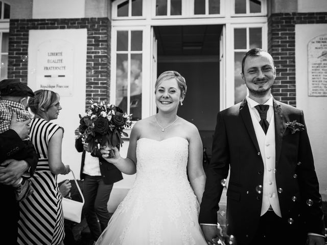 Le mariage de Flavien et Amandine à Pontgouin, Eure-et-Loir 16