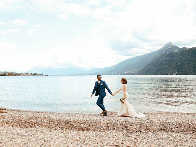 Le mariage de Bogdan et Romane à Aix-les-Bains, Savoie 1