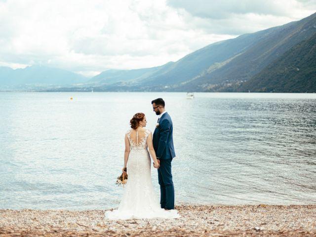 Le mariage de Bogdan et Romane à Aix-les-Bains, Savoie 3