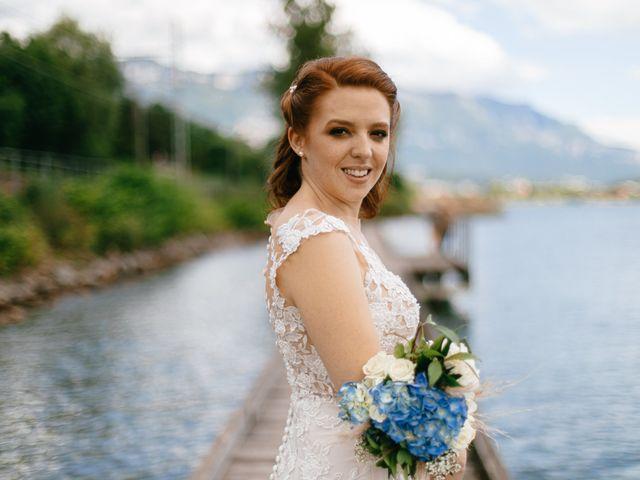 Le mariage de Bogdan et Romane à Aix-les-Bains, Savoie 12