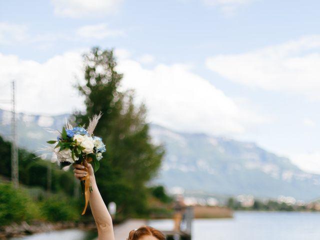 Le mariage de Bogdan et Romane à Aix-les-Bains, Savoie 13