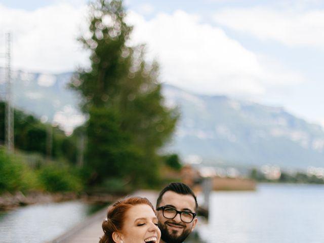 Le mariage de Bogdan et Romane à Aix-les-Bains, Savoie 14