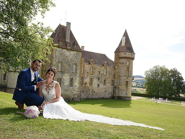 Le mariage de Aurélien et Allison à Bazoches, Nièvre 12