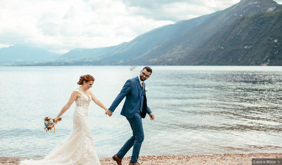Le mariage de Bogdan et Romane à Aix-les-Bains, Savoie