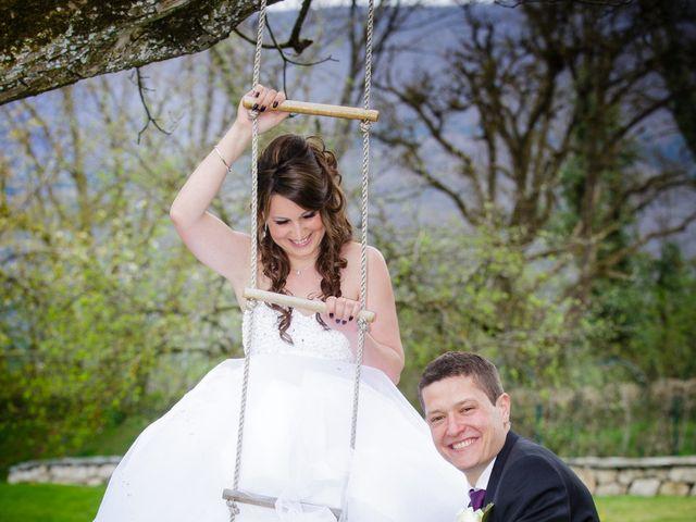 Le mariage de Julien et Vanessa à Feigères, Haute-Savoie 5