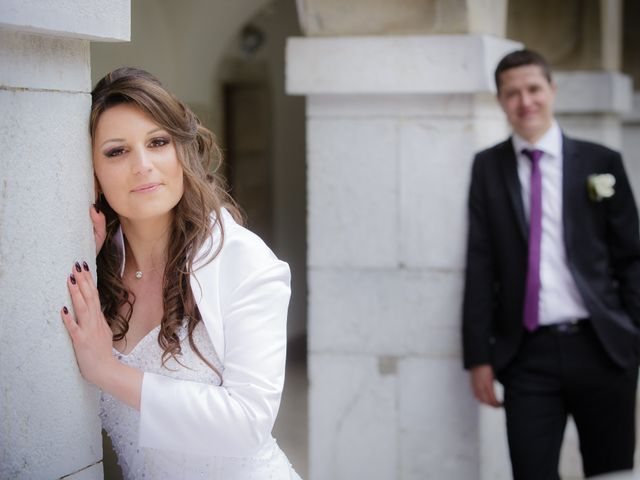 Le mariage de Julien et Vanessa à Feigères, Haute-Savoie 11