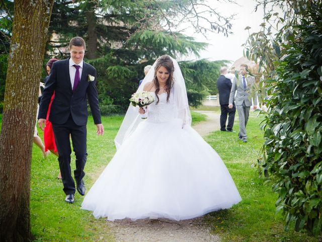 Le mariage de Julien et Vanessa à Feigères, Haute-Savoie 17