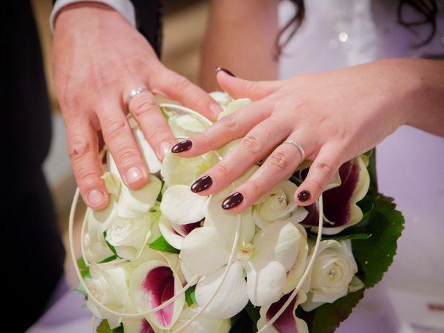 Le mariage de Julien et Vanessa à Feigères, Haute-Savoie 20