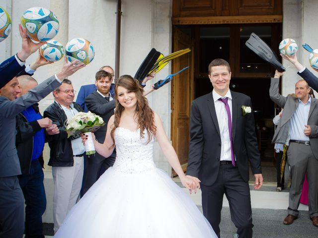 Le mariage de Julien et Vanessa à Feigères, Haute-Savoie 22