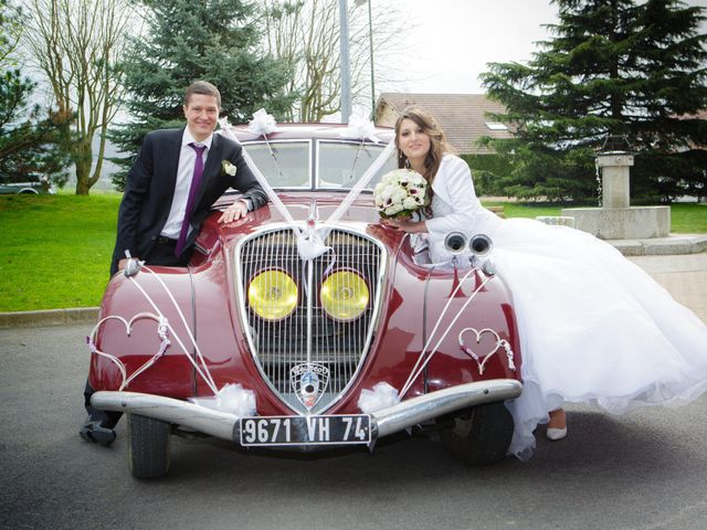 Le mariage de Julien et Vanessa à Feigères, Haute-Savoie 26