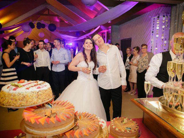 Le mariage de Julien et Vanessa à Feigères, Haute-Savoie 35
