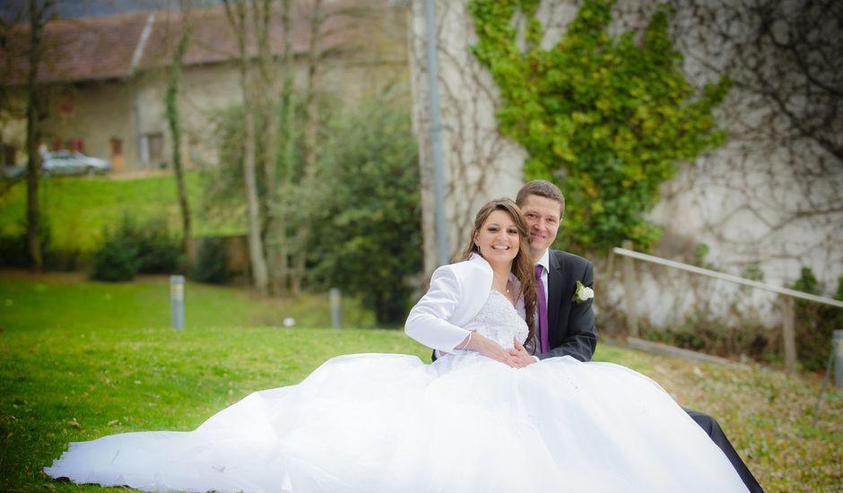 Le mariage de Julien et Vanessa à Feigères, Haute-Savoie