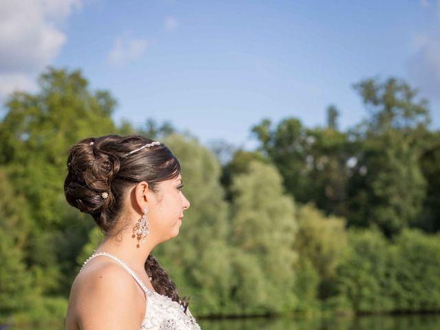 Le mariage de Julien et Aurélie à Nangis, Seine-et-Marne 77
