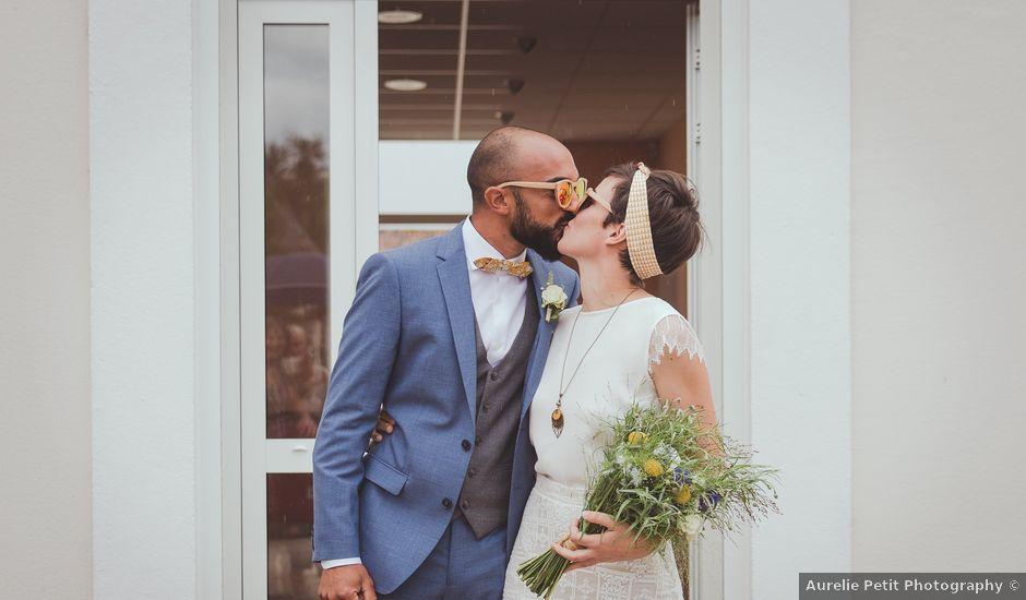 Le mariage de Gérald et Marine à Saint-Aignan-le-Jaillard, Loiret